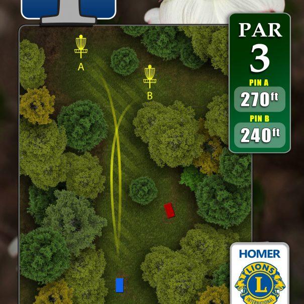Hole 1 Dogwood Course